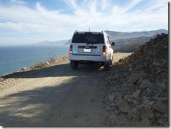 road south of Punta Pescaderos