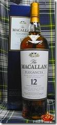 macallan elegancia with plaid