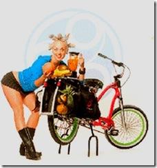 bike blender chick
