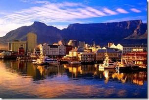 1st stop - beautiful Capetown