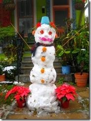Gumbo snowman