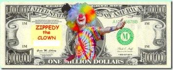 Bozo dollars