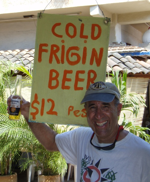It's not just cold beer...