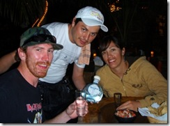 Cueva del pescador tequila shots