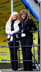 podium girls