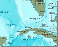 western-caribbean map