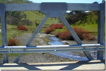 Bridge over Bear Creek to Wilbur Springs