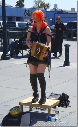 Orange hair is NOT a sin.