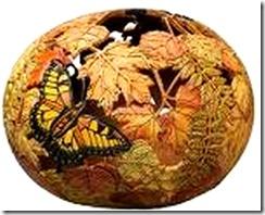 gourd carved art