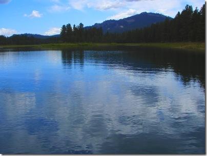 davis lake reflection