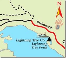lake davis map