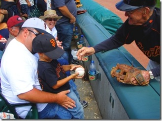 balldude gives kid ball
