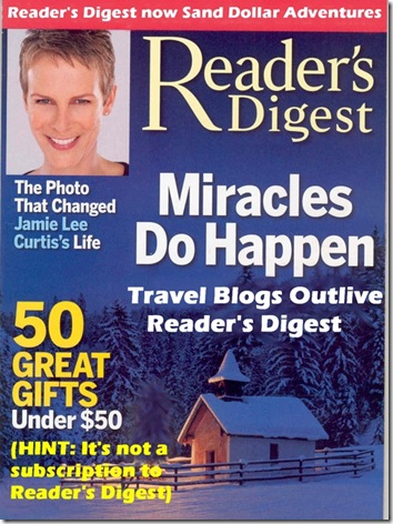Reader's Digest latest cover