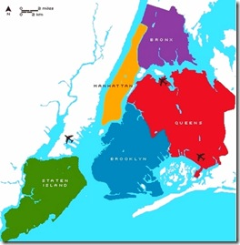 NY boroughs