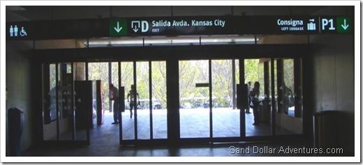 Sevilla train exit
