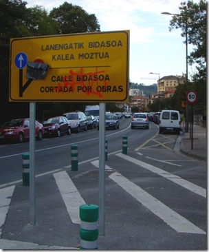 Basque sign maintainence