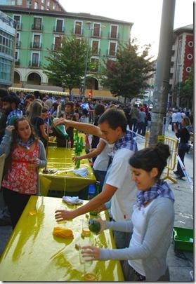 Eibar cider festival