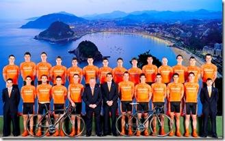 Euskadi bike team San Sebastian
