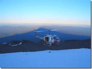Mt. Shasta heli pic