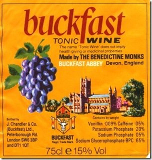 buckfast label