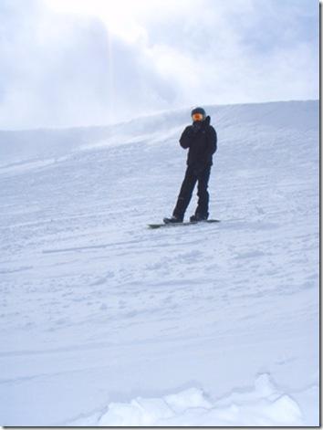 Darth Snowboarder