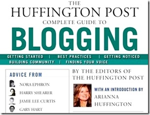 huffington post book on blogging