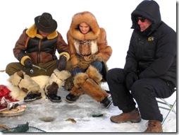 No Res China ice fishing