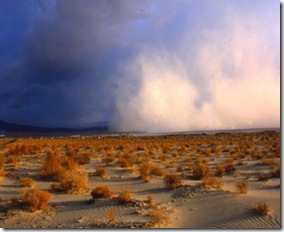 Owens Valley dust storm