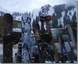 UT 2010 skis and boards