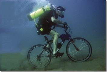 scuba bicyle