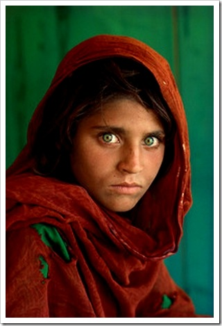 McCurry's Afghan Girl photo