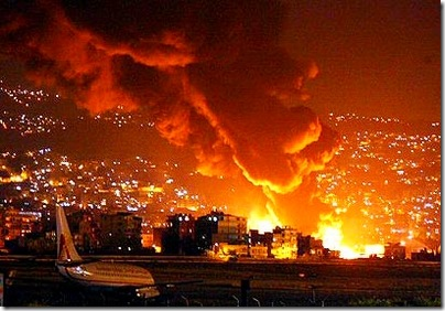 Getting bombed in Beirut