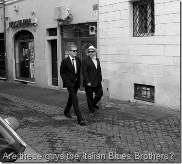 Bourdain Rome Blues Bros