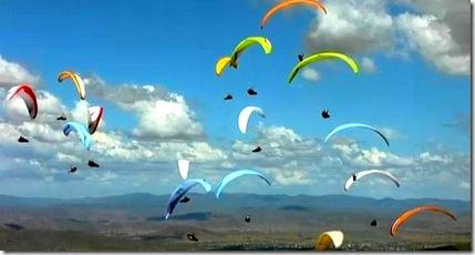 paragliders banff film clip