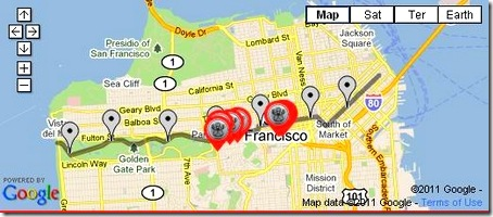 Bay to Breakers pit stops