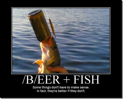 Beer + Fish (do we really need the fish?)