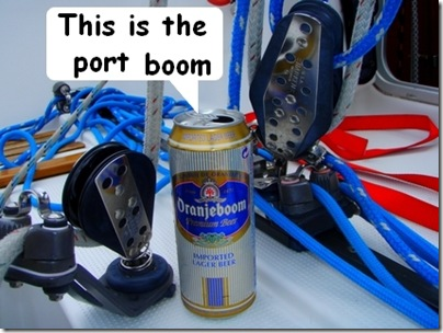 This is the port boom