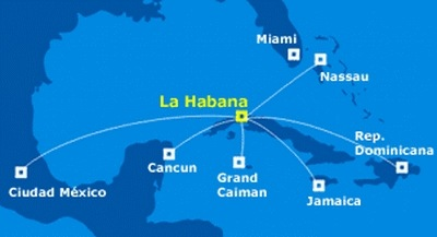 how to go to cuba from mexico