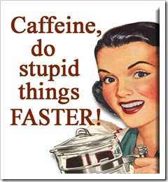 caffeine do things faster