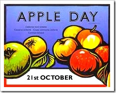 world apple day poster
