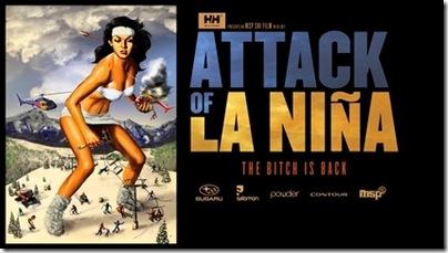 attack of la nina poster