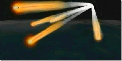 Phobos Grunt debris