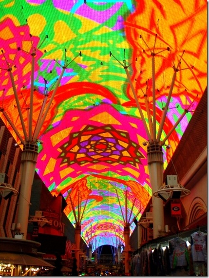 Fremont Experience ceiling