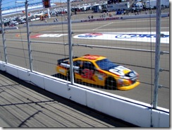 NASCAR warm-up car