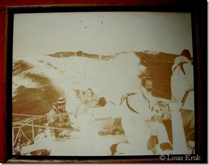 1979 Fastnet onboard Kialoa