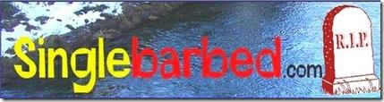 Singlebarbed header
