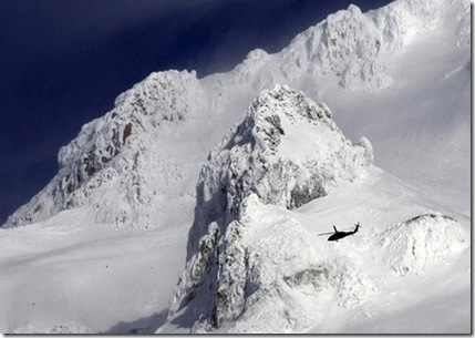 Mount Hood helicopter