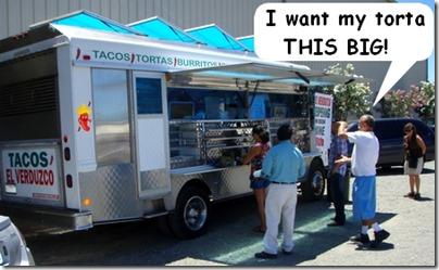 Winters taco truck