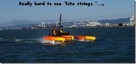 big kite boat