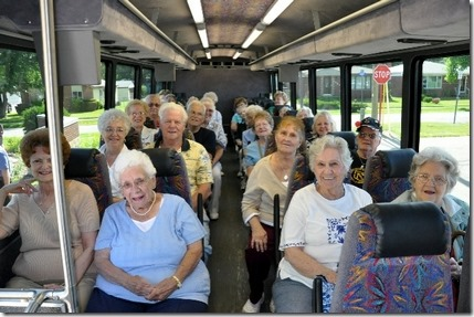 old people on the bus